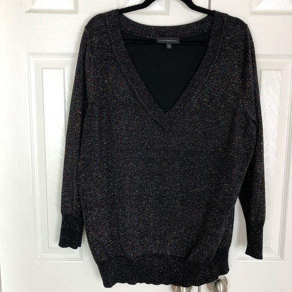 Lane Bryant Sweaters - Lane Bryant Multi-Color Metallic Weave Sweater